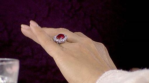 El anillo que luce Eva Longoria