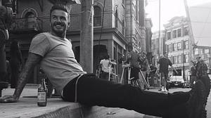 David Beckham, el «padrazo» del mes
