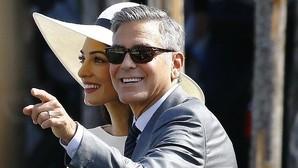 George Clooney y Amal Almuddin