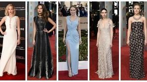 Jennifer Lawrence, Alicia Vikander, Brie Larson, Rooney Mara y Saoirse Ronan