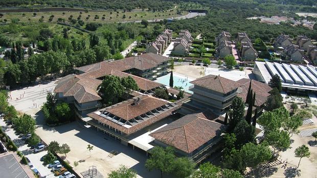 Vista general del Colegio Estudio
