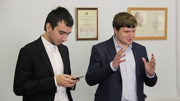 Zuznetsov, alias Vován, y Stoliarov, más conocido como Lexus