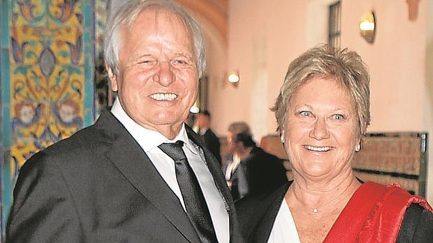 Manuel Benítez El Cordobés y su mujer Martina