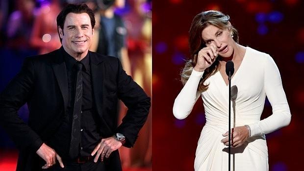 John Travolta y Caitlyn Jenner
