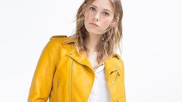 zara girls chaquetas cuero