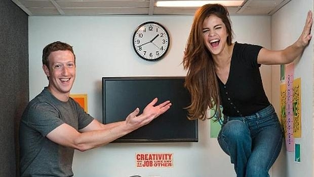 Selena g mez y mark zuckerberg en la oficina m s peque a for Oficina familia numerosa madrid