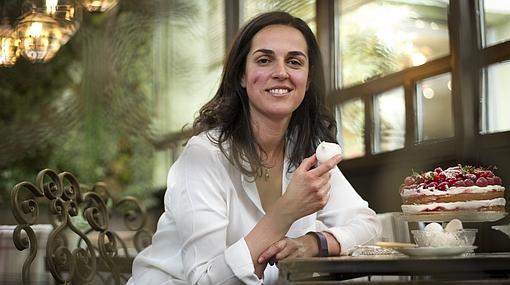 María Parejo posa para ABC