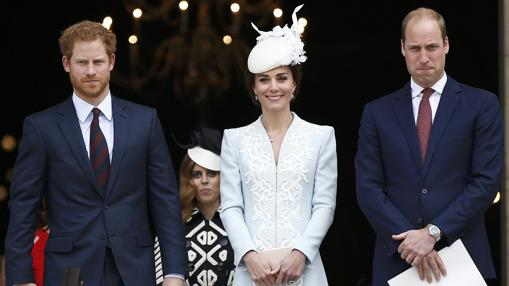 Los Duques de Cambridge y el Príncipe Enrique