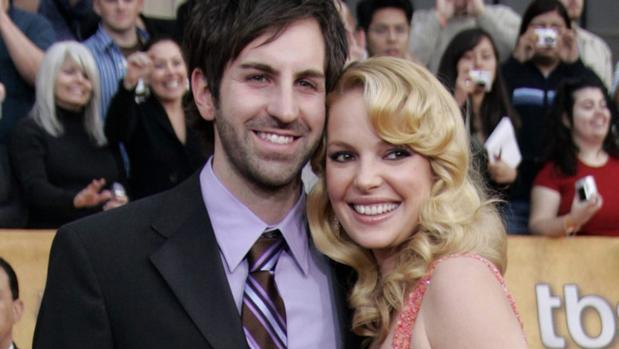 La actriz y su pareja