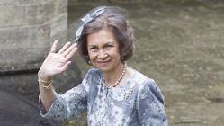 La Reina Sofía fue una de las invitadas a «la boda del año»