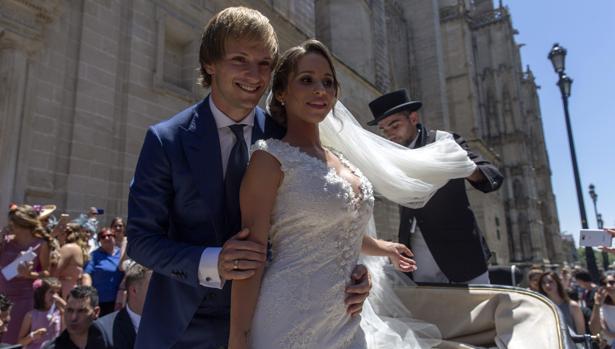 Ivan y su mujer Raquel