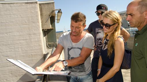 Martín Ferrer y Paris Hilton