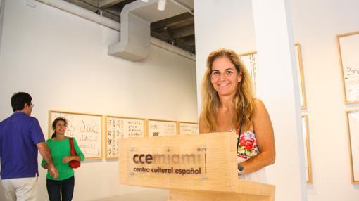 La triple campeona de Rolland Garros Arantxa Sánchez Vicario es directora deportiva de una escuela