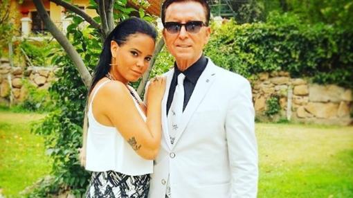 Ortega Cano jposa unto a su hija Gloria Camila