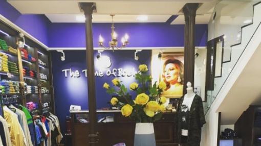 Decoración de la tienda de Gloria Camila