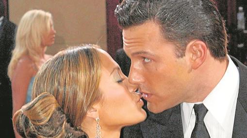 ben Affleck y Jennifer Lopez se conocieron en el rodaje de «Gigli», pero él la dejó plantada