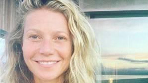 Con la cara «lavada», así celebró Gwyneth Paltrow su 44 cumpleaños