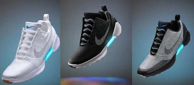 nike presenta las primeras zapatillas que se atan solas