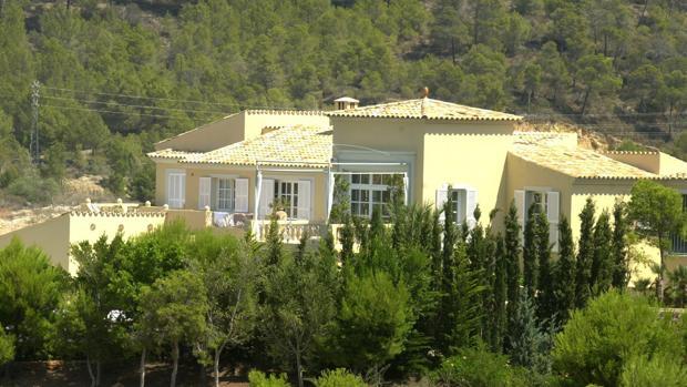 La casa de Claudia Schiffer en Camp de Mar (Mallorca)