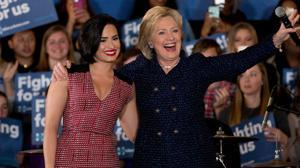 Famosos que apoyan a Hillary Clinton