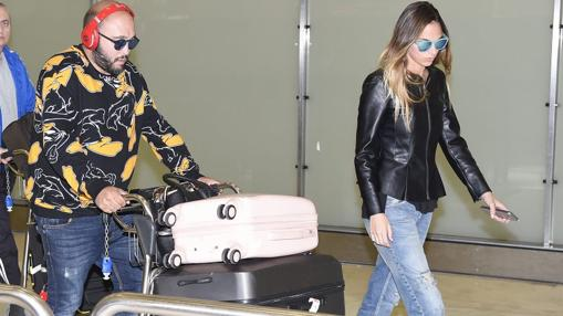 Kiko Rivera and his gorgeous wife Irene Rosales landed in Spain after their honeymoon trip in Dubai and Maldives