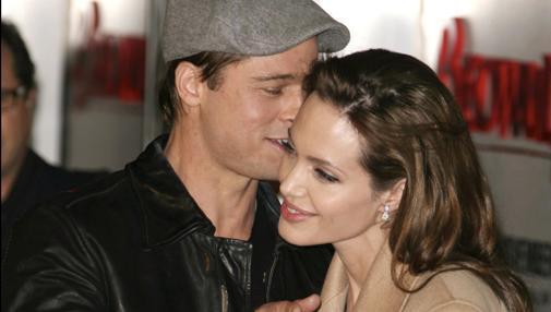 Angelina y Brad, cómplices