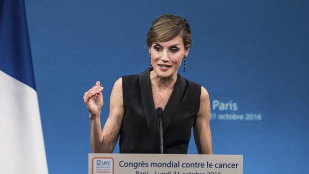 Doña Letizia, en el vigésimo Congreso mundial contra el cáncer