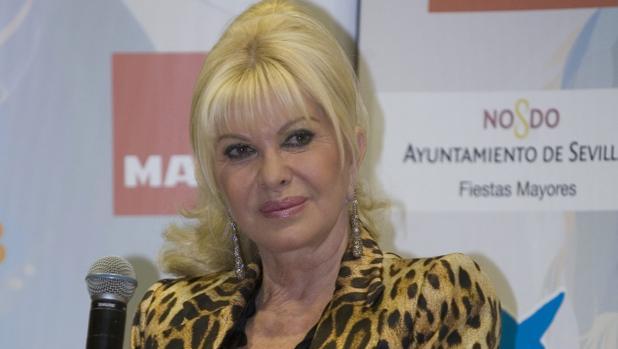 Ivana en un acto