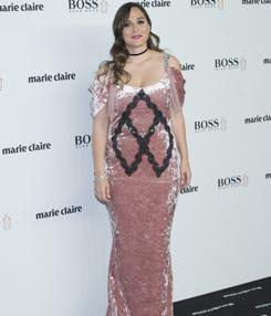Tamara Falcó posa durante los premios Marie Claire