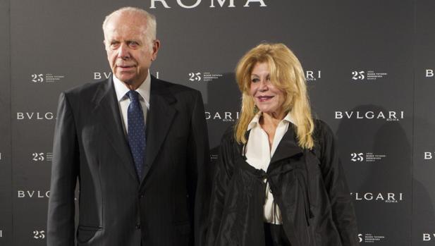 La baronesa Tissen con Bulgari