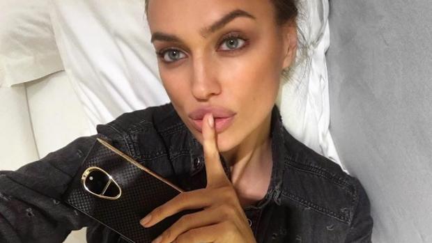 Selfie compartido por la modelo
