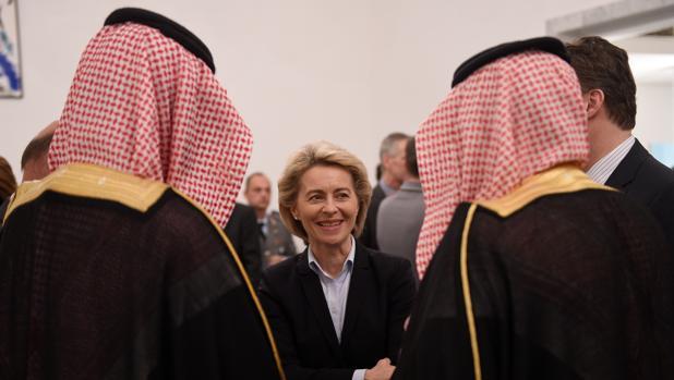 La política alemana en Riad (Arabia Saudí), hace unos días