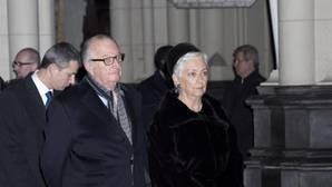 La reina Paola junto a su marido el rey Alberto II