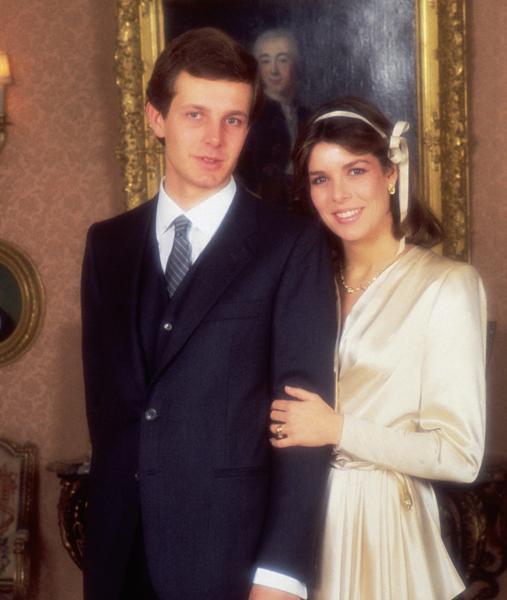 También de Dior cuando se casó con Stèfabo Casiraghi