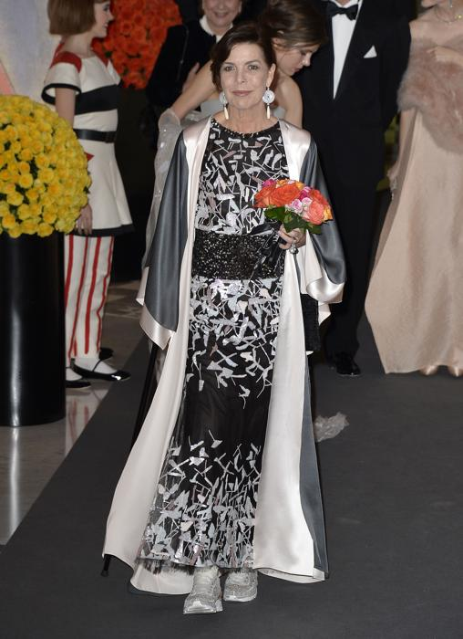 Kimono y zapatillas en este Chanel Alta Costura, en 2014