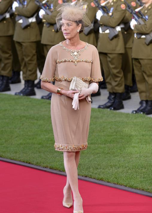 Una pieza de día de Alta Costura de Chanel para una boda real en 2010