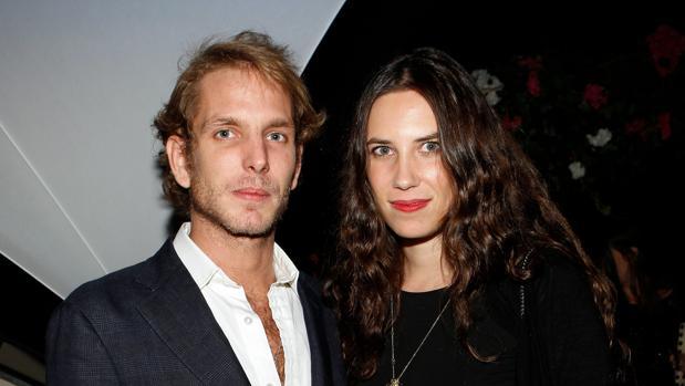 Andrea Casiraghi y Tatiana Santo Domingo en París