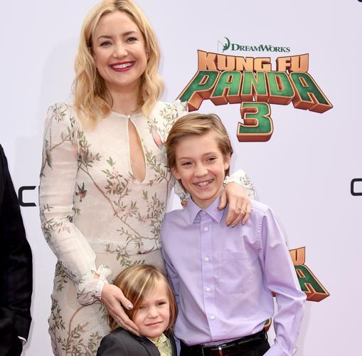 Kate junto a sus dos hijos