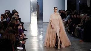 Uno de los diseños de la nueva colección de Carolina Herrera
