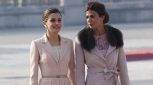 Juliana Awada junto a la Reina Letizia