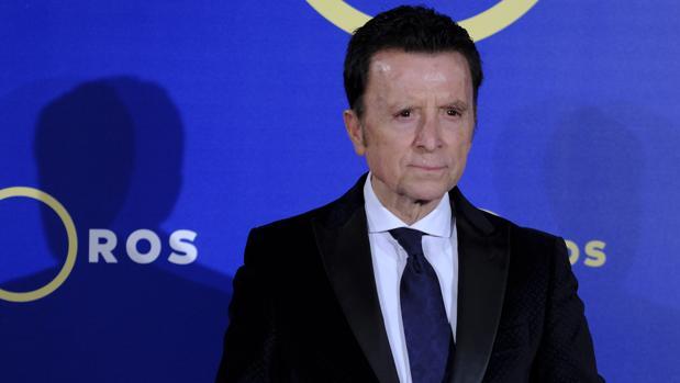 José Ortega Cano, durante la presentación del Canal Toros TV