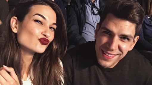Diego y Estela, última pareja oficial presentada por el joven