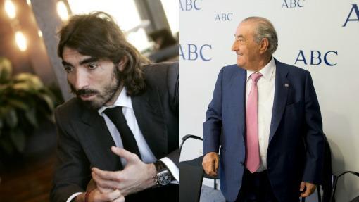 Javier y su padre, Juan José Hidalgo