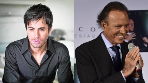Enrique y Julio Iglesias
