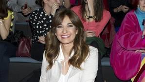 Mariló Montero, en la Mercedes Fashion Week de Madrid el pasado febrero