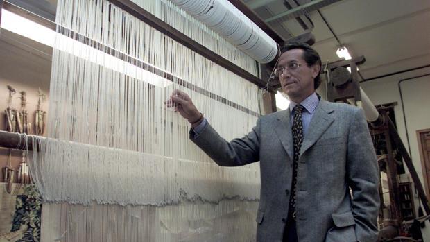 Livinio Stuyck dirigió hasta 2002 la Real Fábrica de Tapices