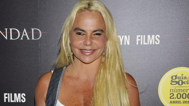 Leticia Sabater, en el hospital por una infección bucal