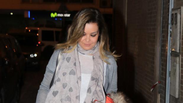 María José Campanario, ingresada de nuevo en el hospital