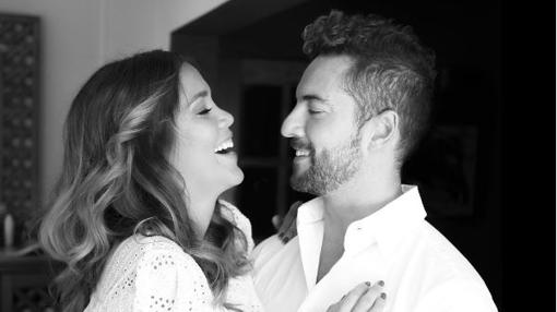 David Bisbal junto a su pareja Rossana Zanetti
