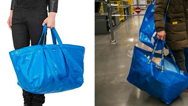 a5de14e45 Gente&estilo El parecido de diseño entre la bolsa de Ikea y la de Balenciaga  provoca carcajadas en